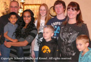 The Schmidt family.